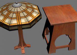 3D Furniture Modeling