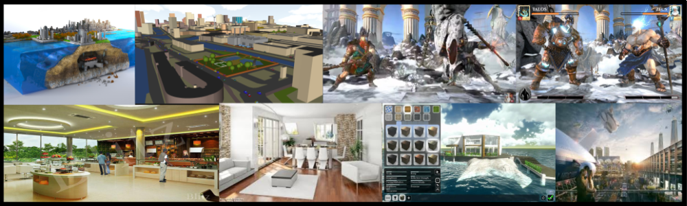 Areas of Application of 3d Visualization