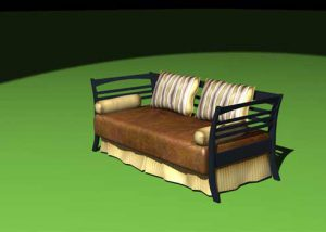3D Furniture Modeling