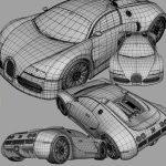 3d modeling services car