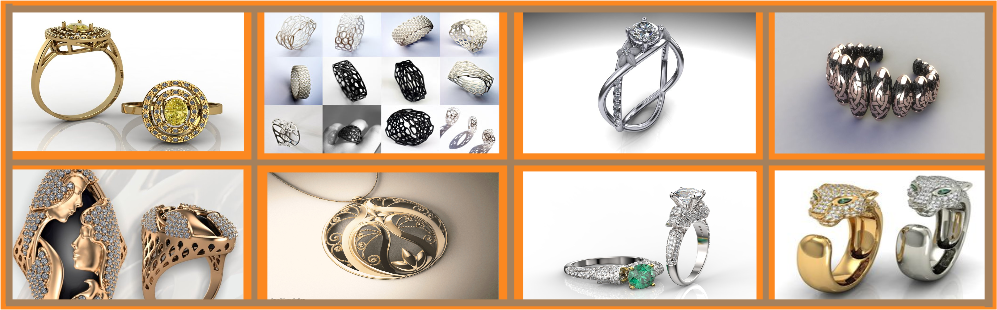 3D JEWELRY MODELING SERVICES