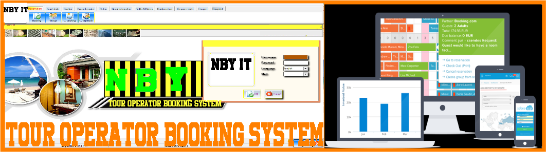 NBY Tour Operator Booking System