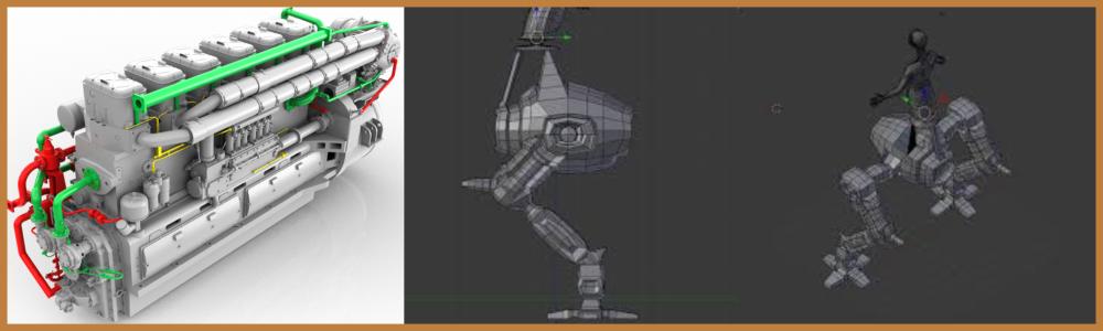 3d model Development