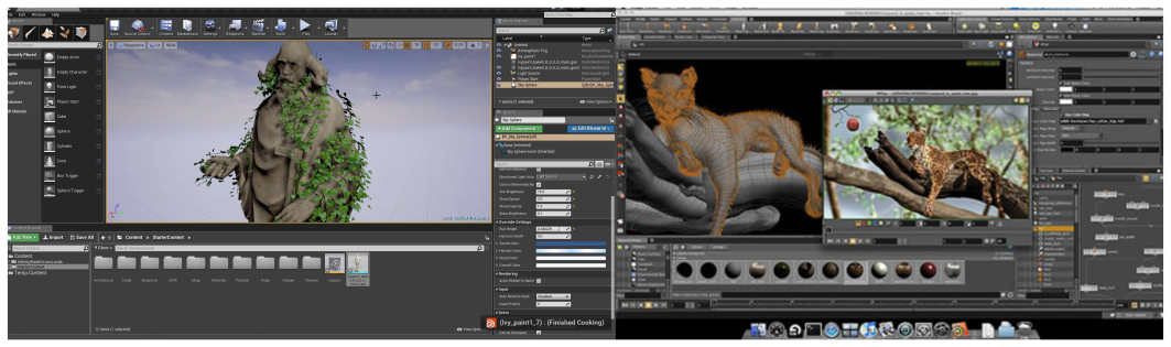 Houdini features for procedural modeling