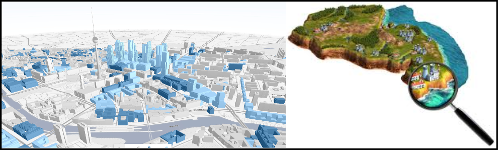 Features of interactive 3d mapping
